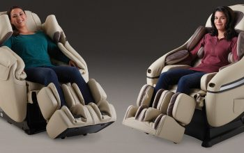 Inada USA DreamWave and Flex 3s Massage Chairs