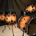 wood fade drum wrap